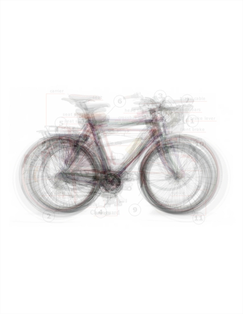 Taylor Jenkins, 'Bicycle Race', Archival Print