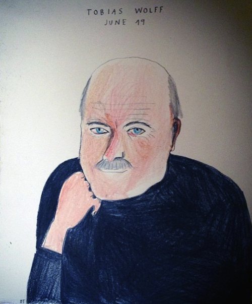 Dasha Tolstikova, Untitled, Ink on paper