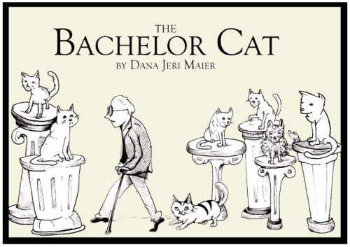 "Dana Maier, ""The Bachelor Cat,"" Illustrated book"