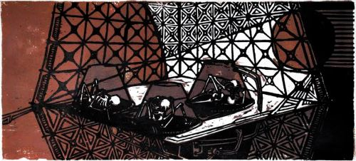 Woodcut Print by Duncan Ford.