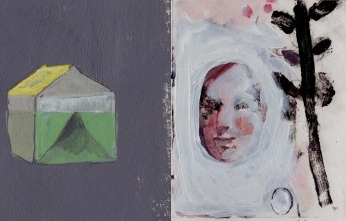 Becca Kallem, Untitled, Gouache