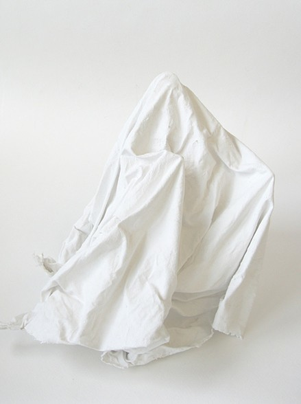 "Becca Kallem, ""Ghost Test White,"" Archival inkjet print, 8 x 10 inches"