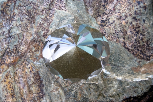 """Diamond,"" Archival inkjet print, 11 x 14 inches, 2014"