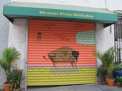 Bison Mural, Pleasant Plains Workshop Washington DC