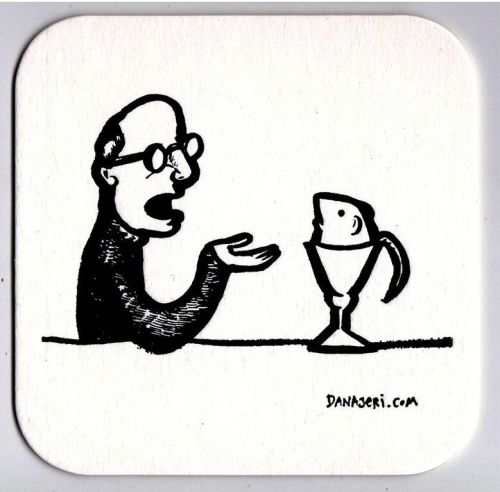Man and Mouse coaster